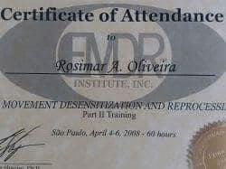 Certificado EMDR